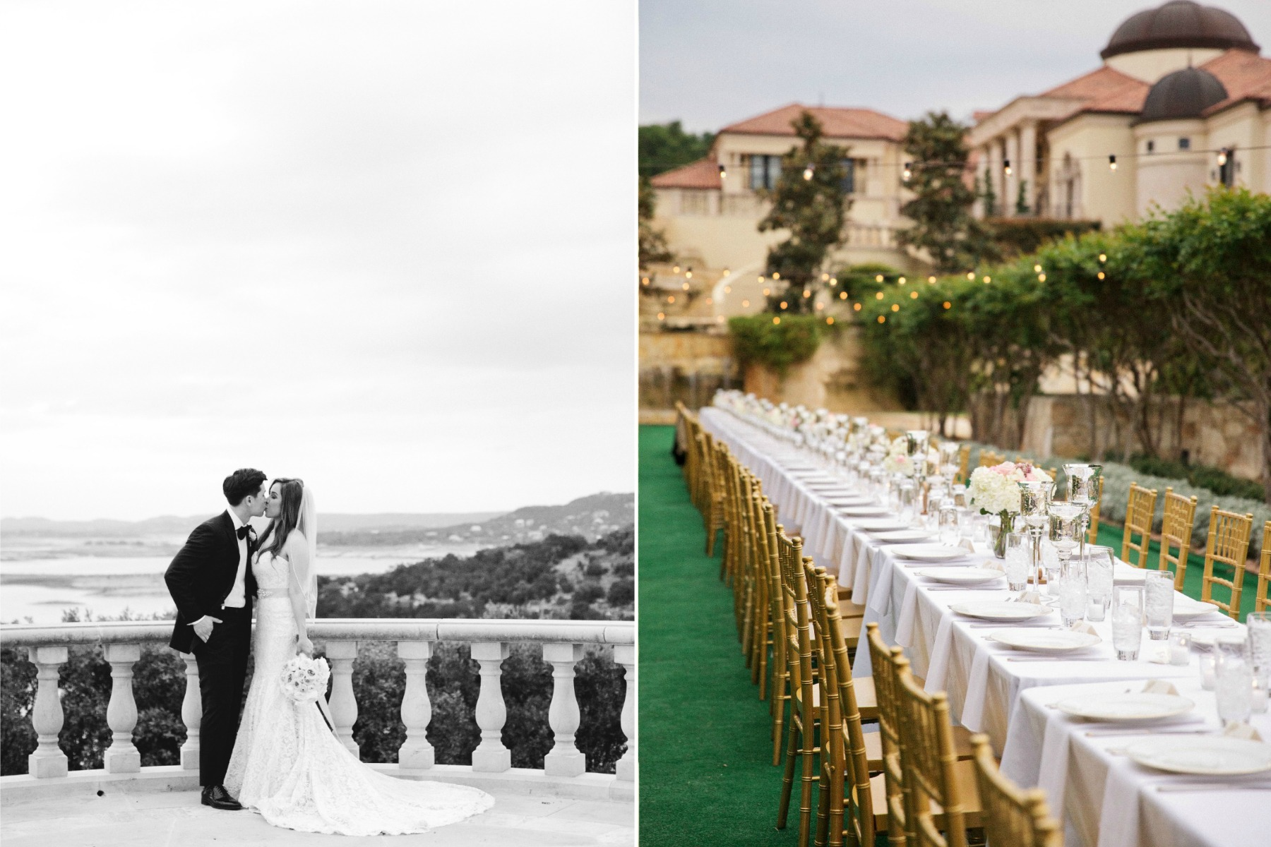 loan and long wedding villa del lago 8 print
