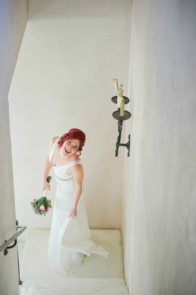 Bride at le san michele